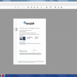 ISO45001 Liverpool Cert